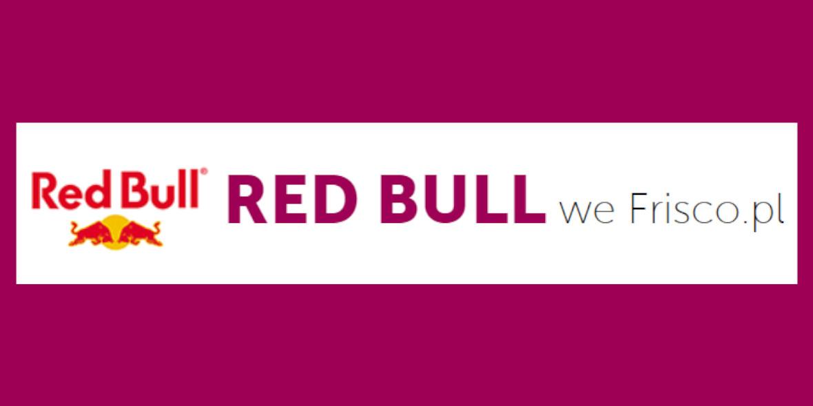Frisco: -18% na napój energetyczny Red Bull 10.05.2021
