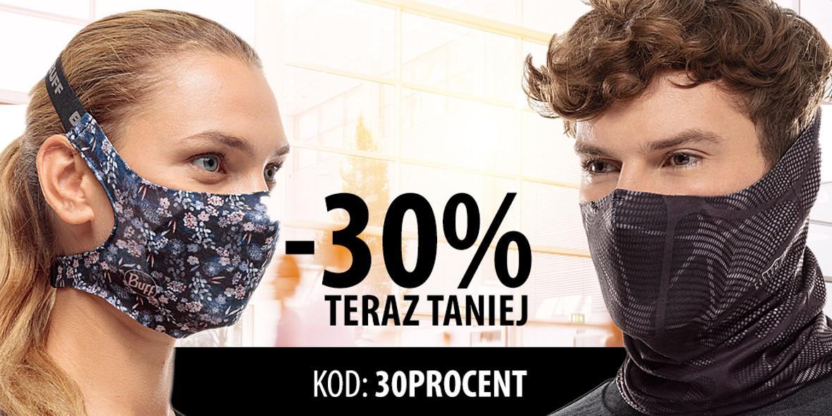 Buff:  Kod: -30% na maski i chusty z filtrem 04.05.2021