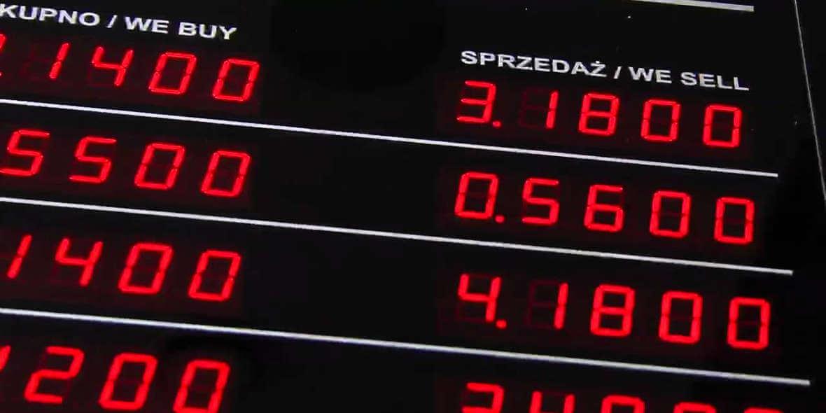 Przelicznik hurtowy na skup i sprzedaż walut