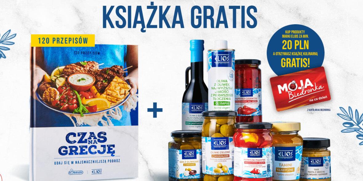 Biedronka: Gratis książka przy zakupie produktów marki Elios 02.06.2021