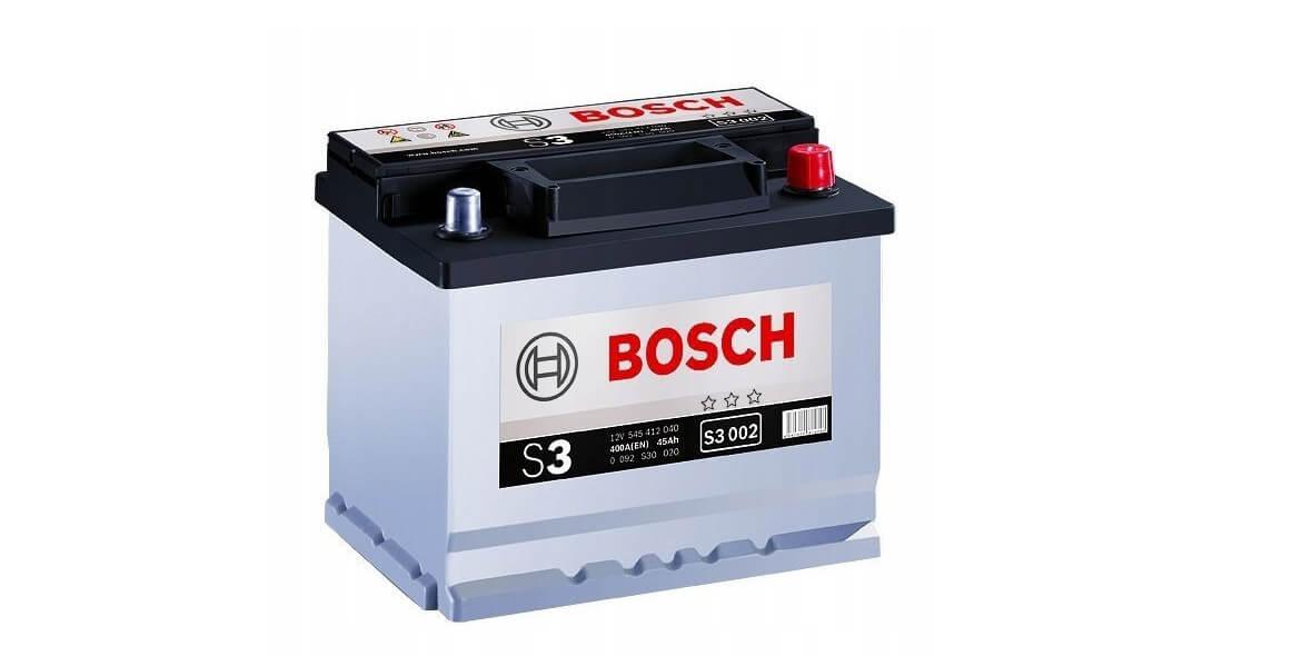 na akumulator samochodowy Bosch