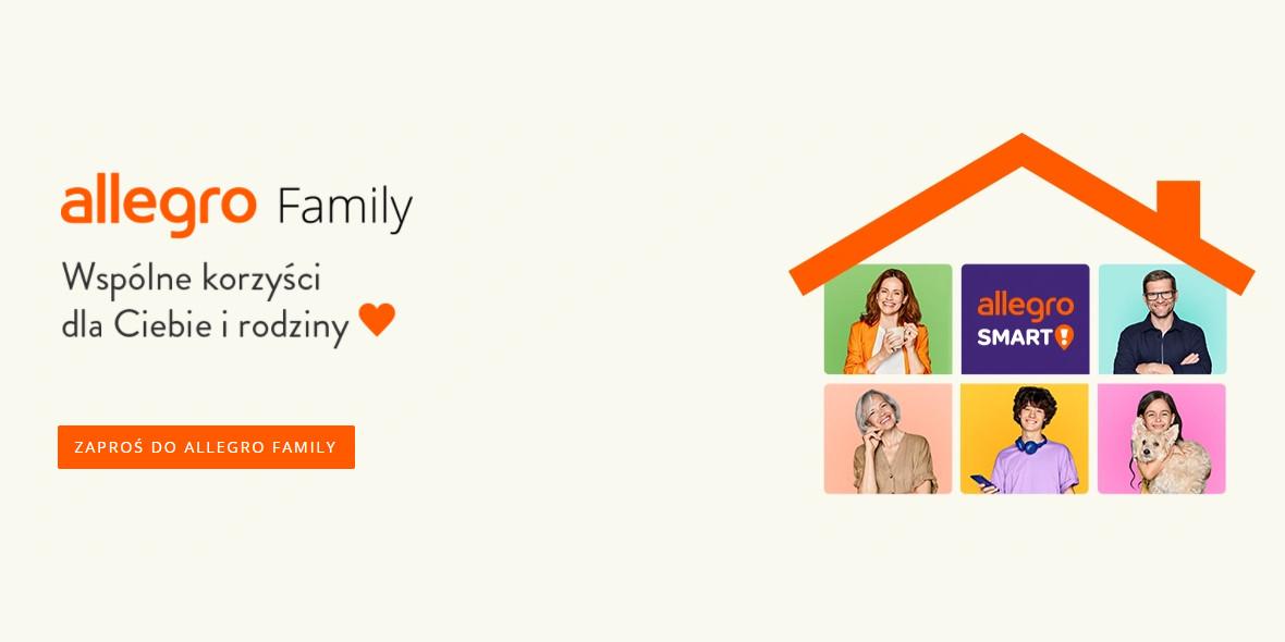 Allegro: +20 Monet za zakupy w ramach Allegro Family 15.07.2021