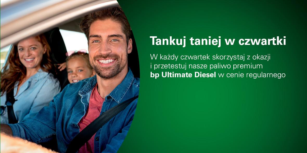 BP  Ultimate Diesel w cenie regularnego paliwa