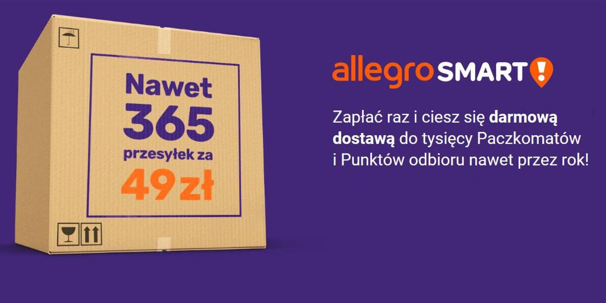 Allegro.pl: 49 zł za 365 przesyłek 05.12.2019