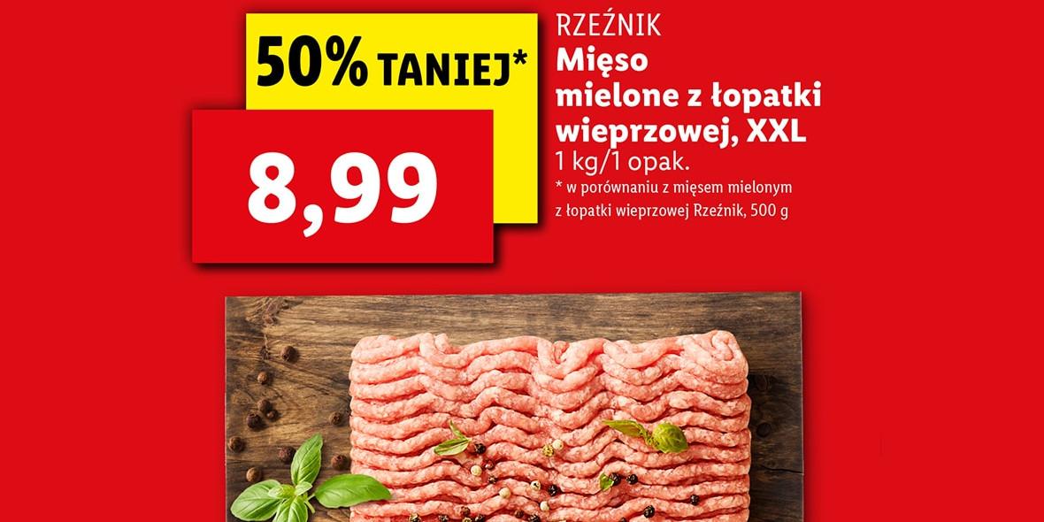Lidl: -50% na mięso mielone XXL 25.10.2021