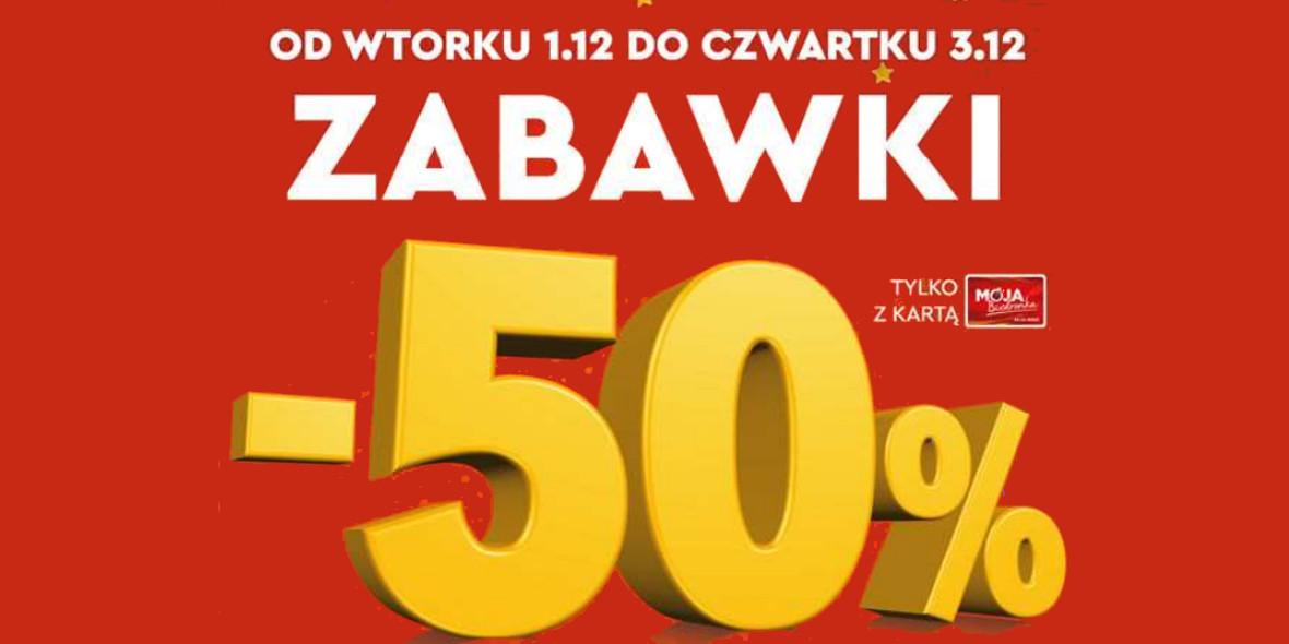 Biedronka: -50% na zabawki 01.12.2020