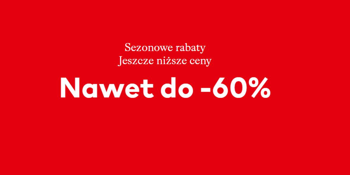 H&M: Do -60% sezonowe rabaty 01.01.0001