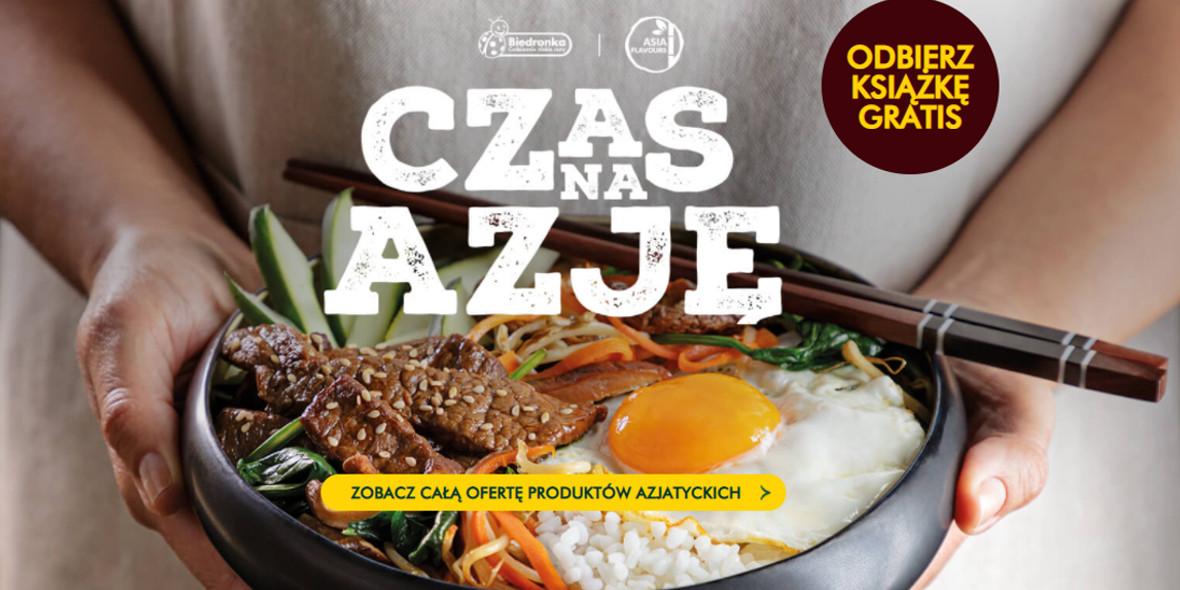 Biedronka: Gratis książka przy zakupie produktów Asia Flavours 30.09.2021