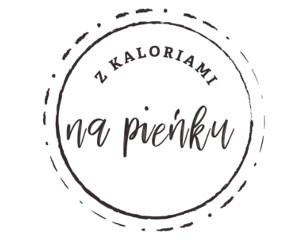 Logo Z kaloriami na pieńku