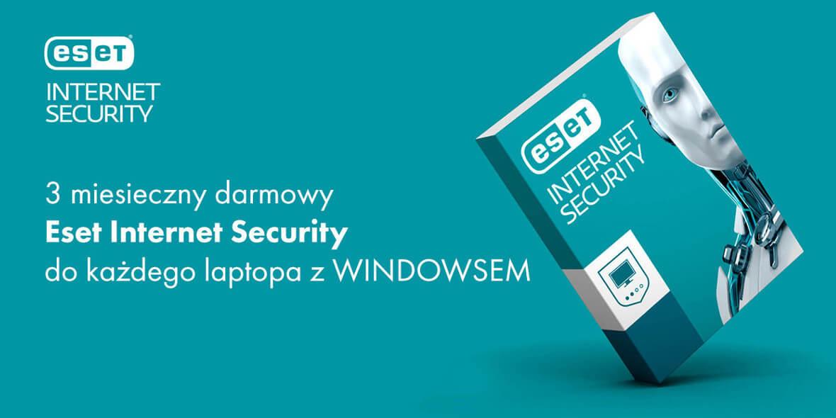 3 miesięczny  Eset Internet Security