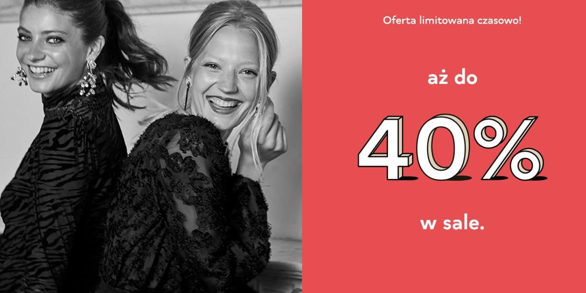 Orsay: Do -40% w sale 01.01.0001