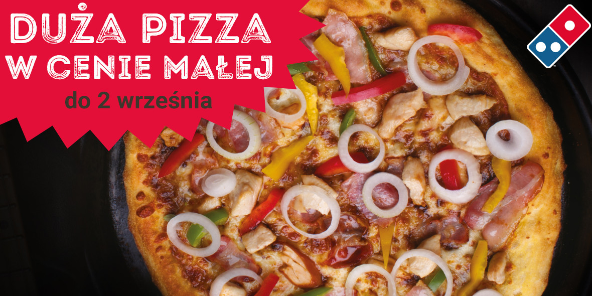 Duża pizza