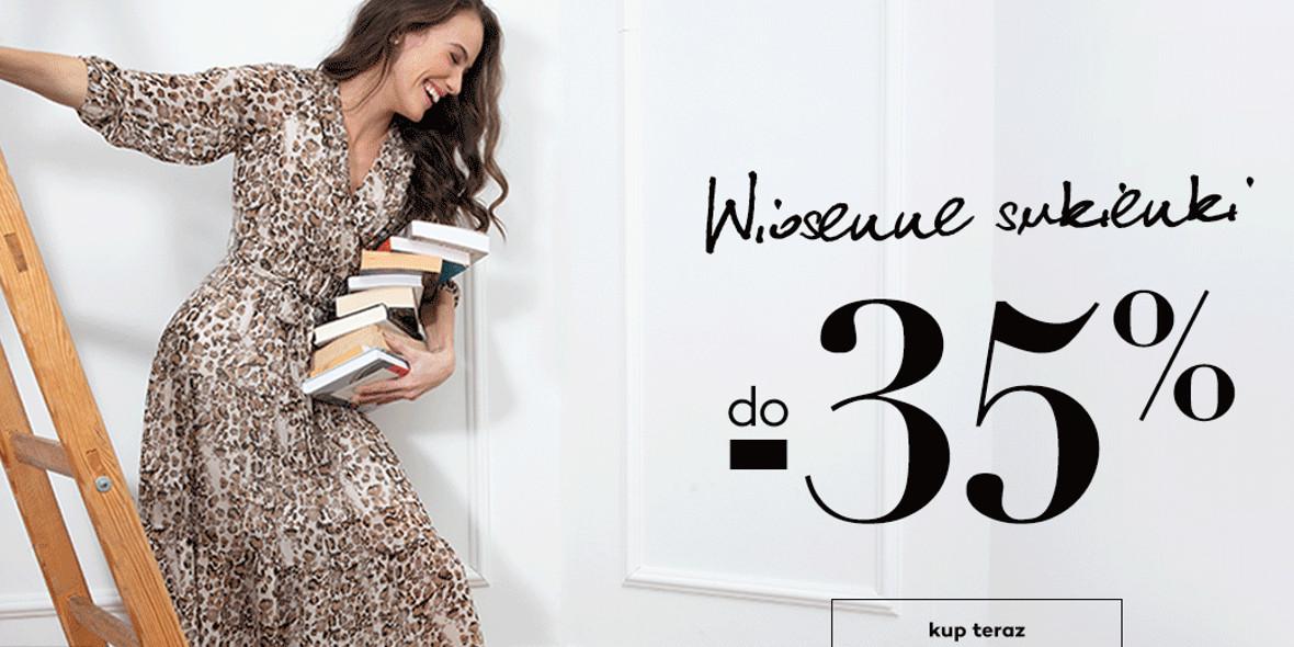Monnari: Do -35% na wybrane wiosenne sukienki