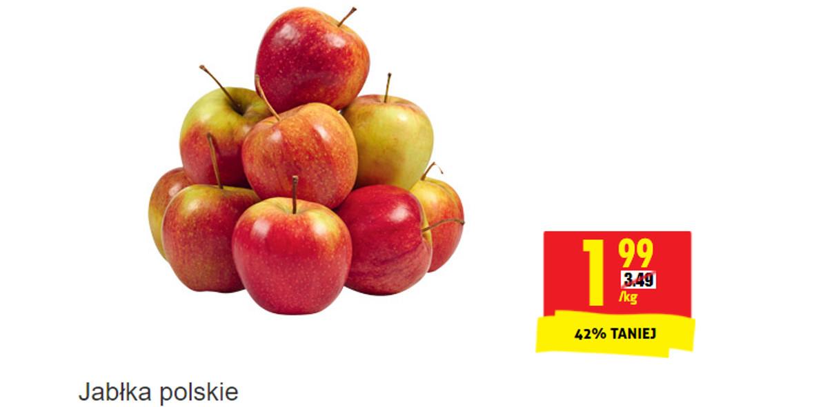 Biedronka: -42% na jabłka polskie 15.10.2021