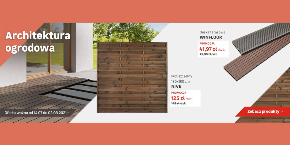 Leroy Merlin:  Architektura ogrodowa w super cenach 14.07.2021