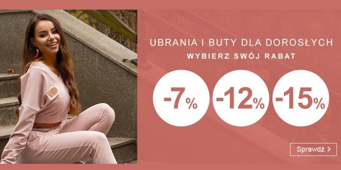 Smyk: Do -15% na ubrania i buty dla dorosłych 03.08.2021