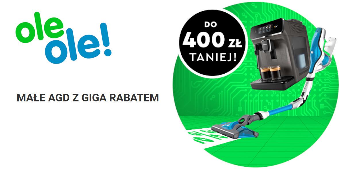 OleOle!: Do - 400 zł za Małe AGD 10.06.2021