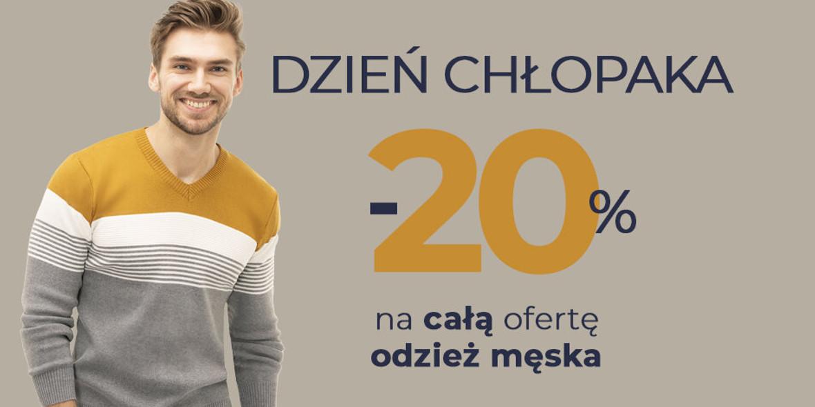 TXM textilmarket: -20% na całą kolekcję męską 26.09.2021