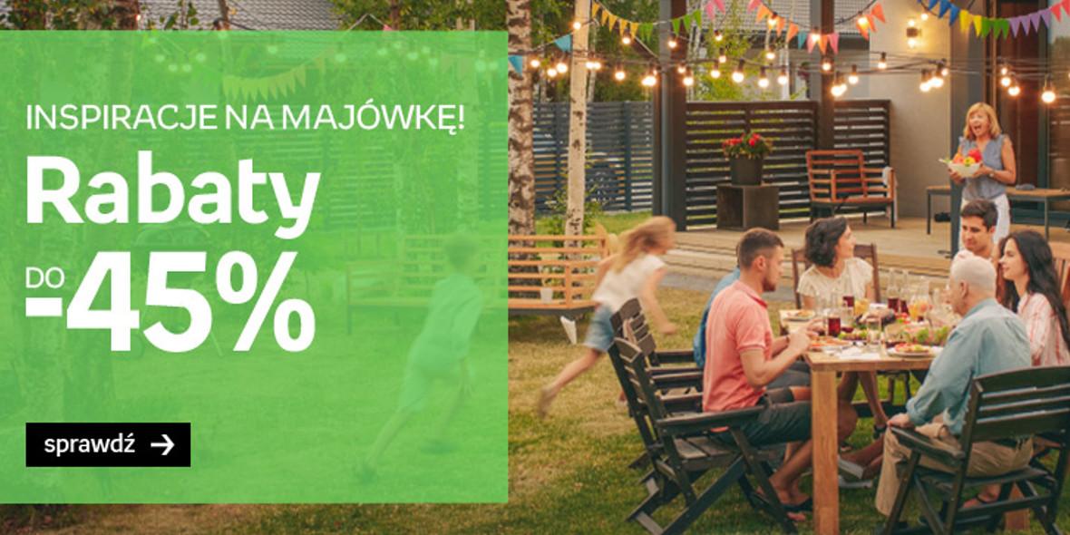 Empik: Do -45% na wypoczynek w ogrodzie 11.04.2021