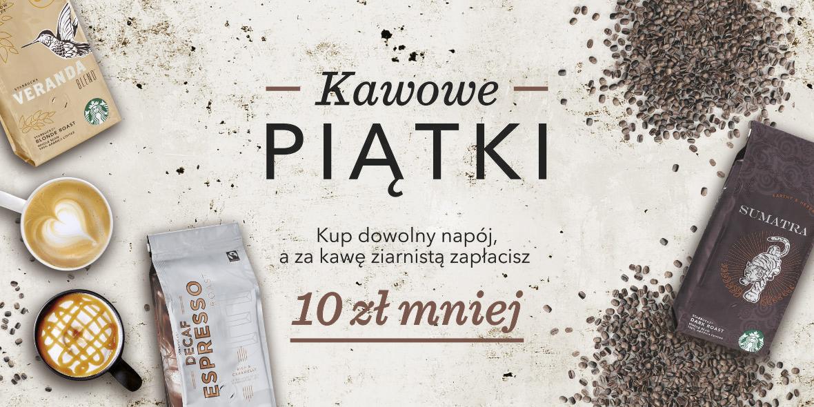Starbucks: -10 zł za kawę ziarnistą