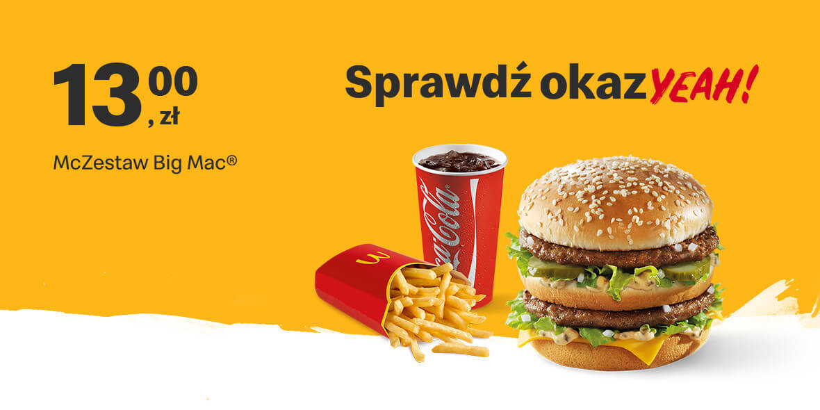 za McZestaw Big Mac®