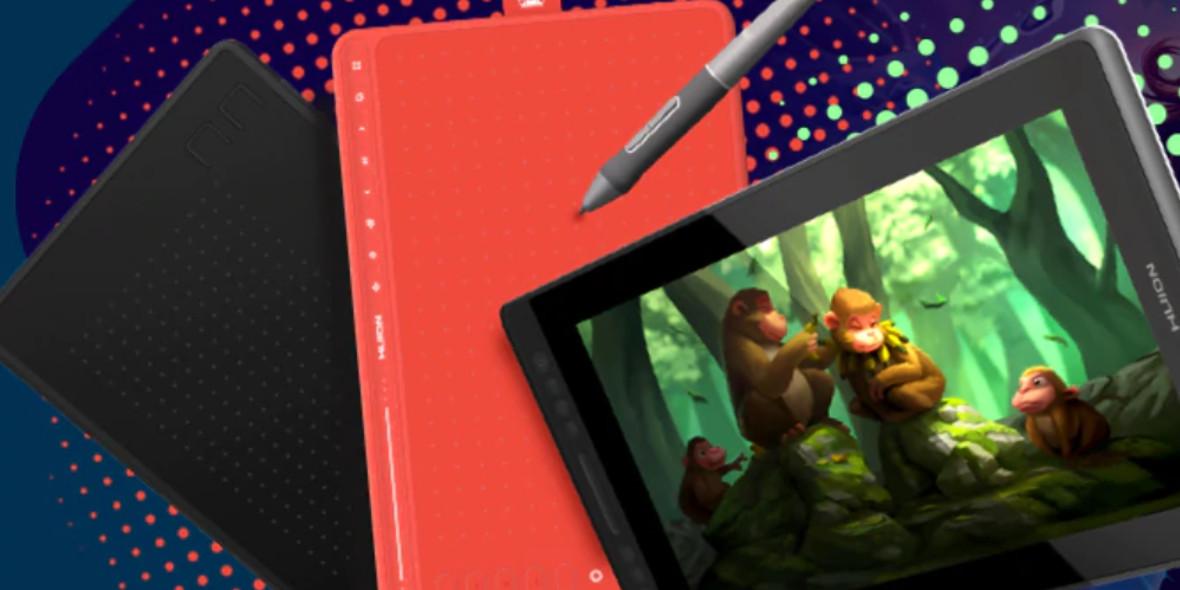 AliExpress: Do -20$ na tablety graficzne HUION 26.01.2021