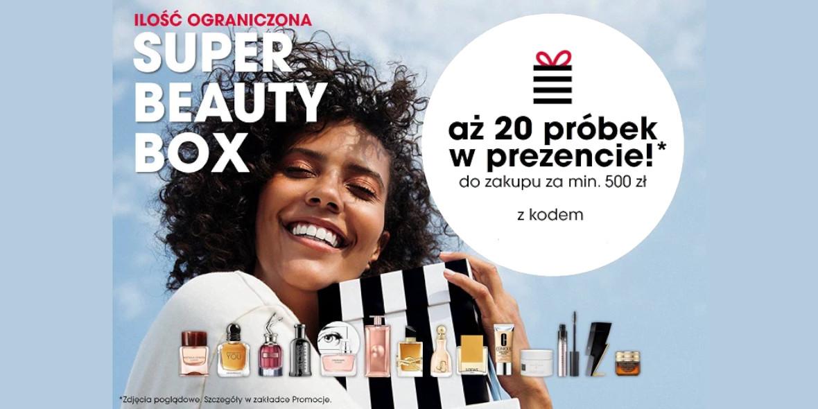 Sephora: 20 próbek w prezencie do zakupów 15.06.2021