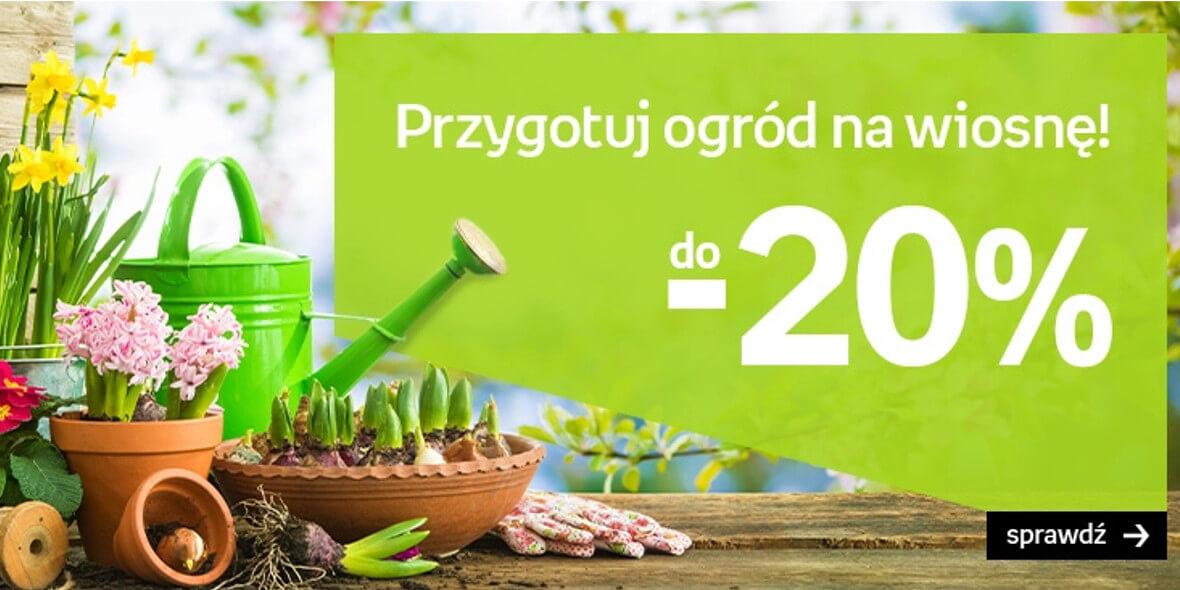 Empik: Do -20% na sprzęt ogrodowy 03.03.2021