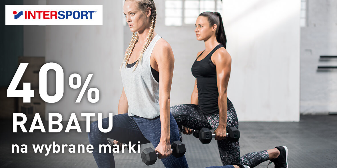 Intersport: -40% na wybrane marki