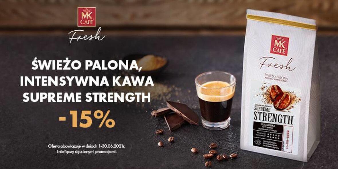 MK Cafe: -15% na kawę miesiąca 01.06.2021