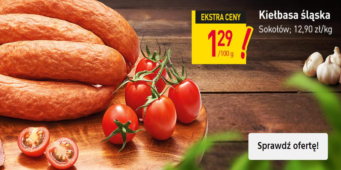 Stokrotka Supermarket: 1,29 zł za kiełbasę śląską 24.06.2021