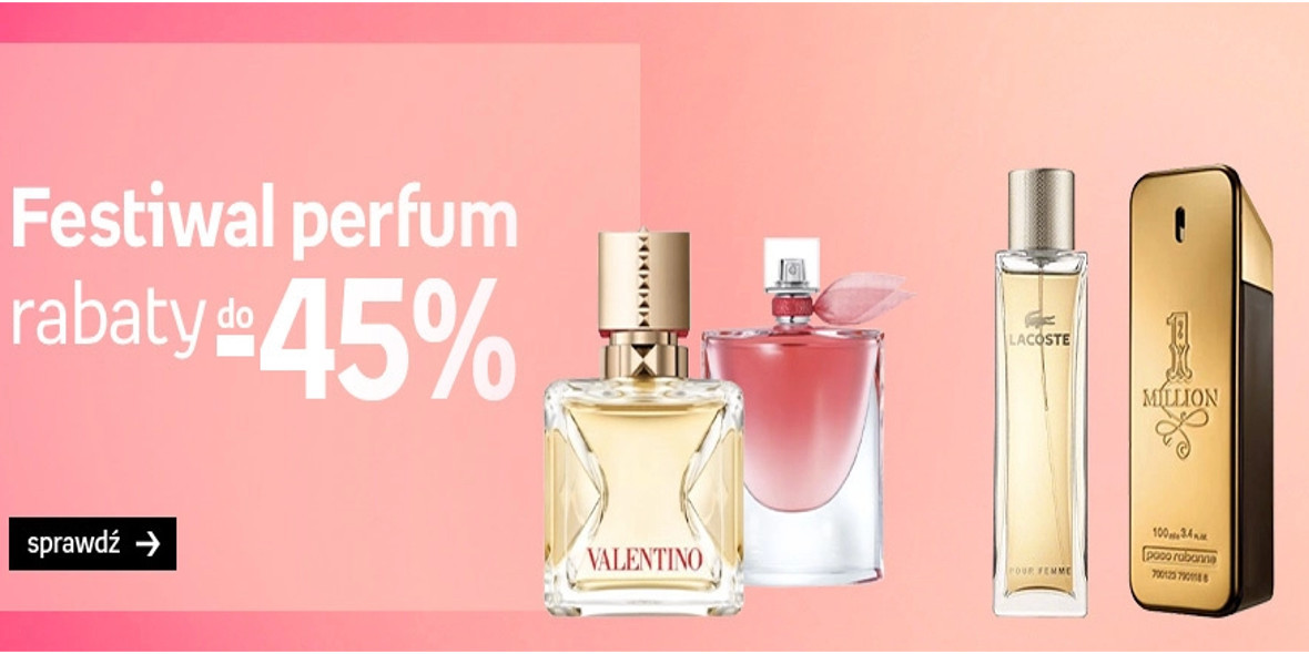 Empik: Do -45% na perfumy 18.10.2021