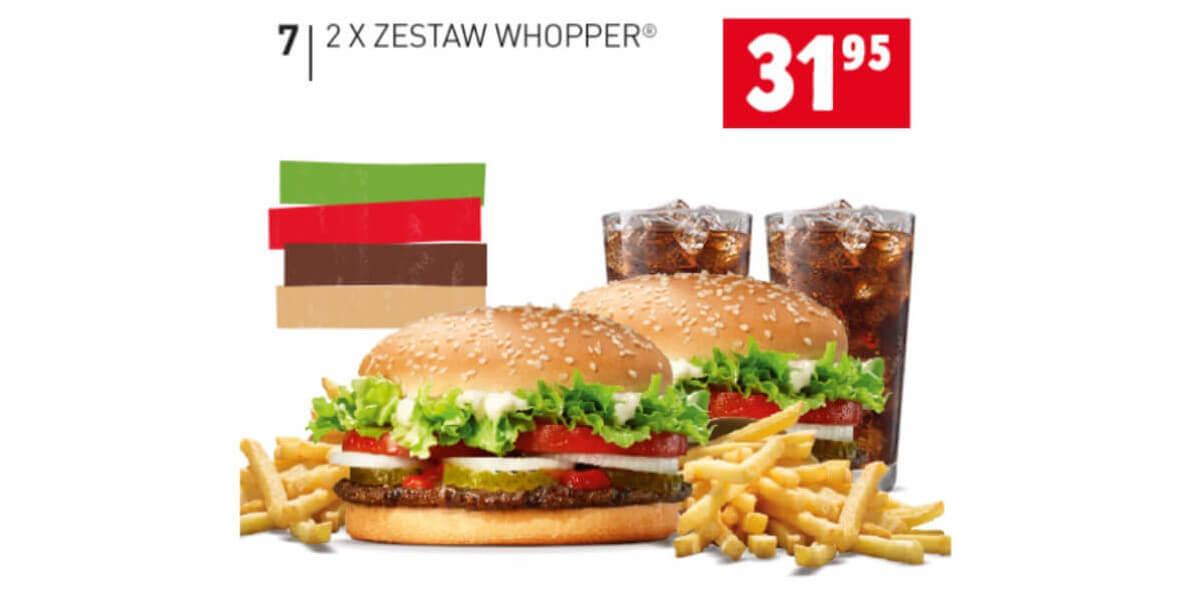 za 2x Zestaw Whopper®