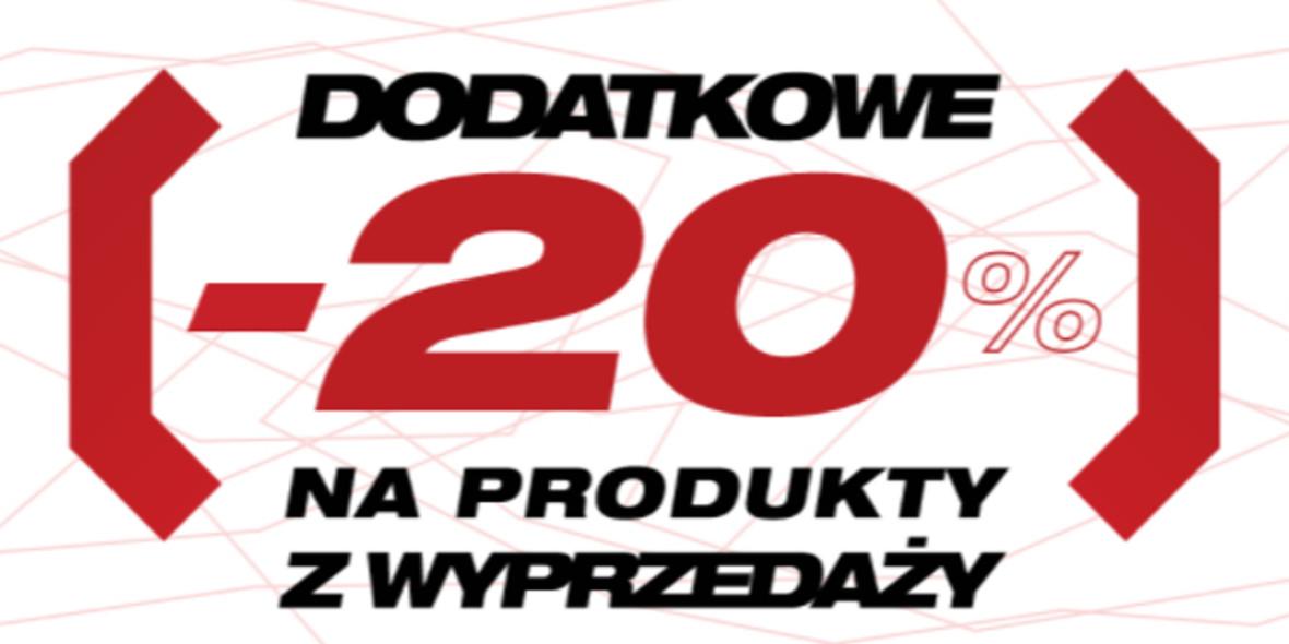 Cropp:  Kod: -20% dodatkowo na produkty z wyprzedaży 20.09.2021