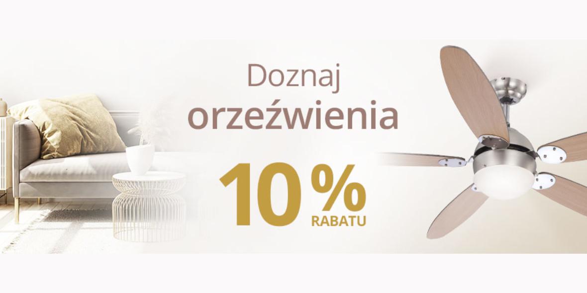 lampy.pl: Kod: -10% na wentylatory 16.06.2021