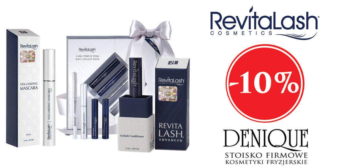Denique Stoisko Firmowe: -10% na produkty marki RevitaLash 01.01.0001