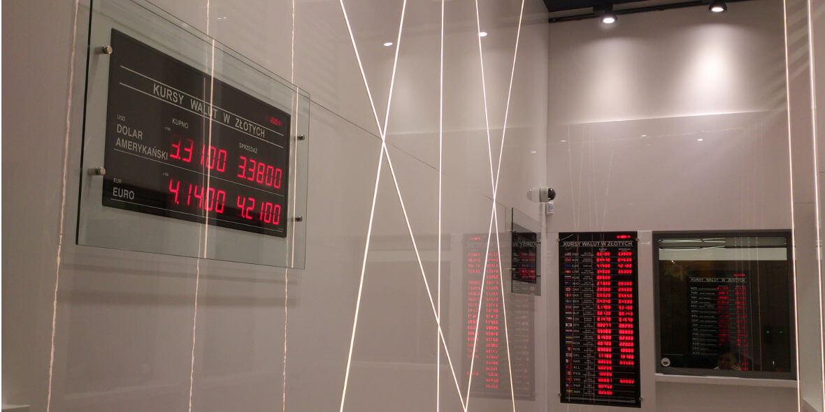 Kantor Wiek: Przelicznik hurtowy na skup i sprzedaż walut