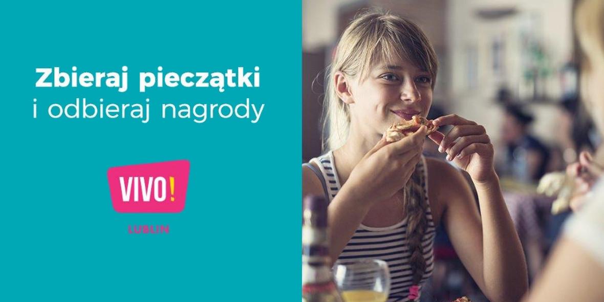 Zbieraj pieczątki w restauracjach w VIVO! Lublin