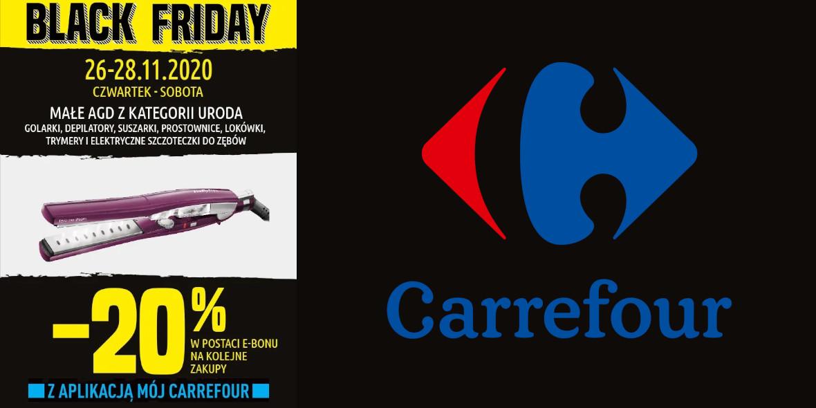 Carrefour: -20% na małe AGD 26.11.2020