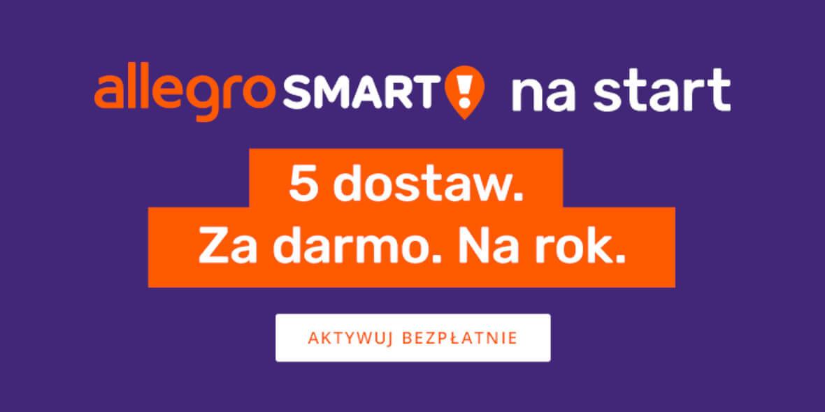 Allegro.pl:  5 darmowych dostaw na rok 01.03.2021