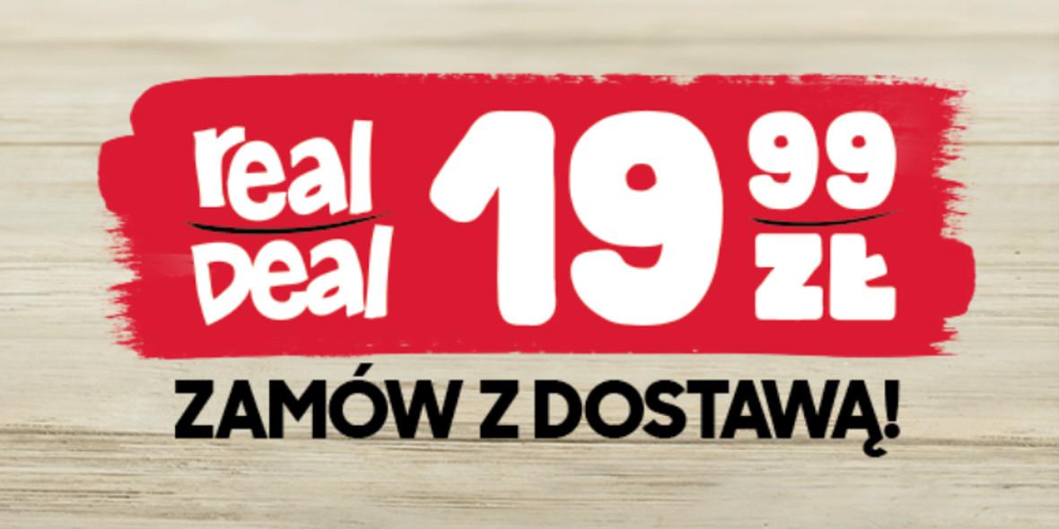 Pizza Hut: 19,99 zł za średnią pizzę 23.01.2021
