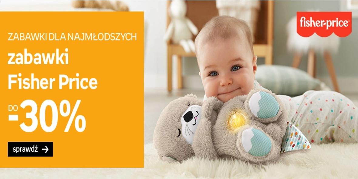 Empik: Do -30% na zabawki marki Fisher-Price 16.09.2021