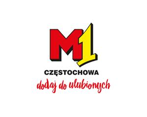 Logo M1 Centrum Handlowe Częstochowa