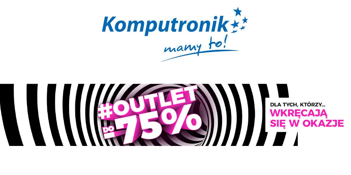 Komputronik: Do -75% na produkty z outletu 10.05.2021