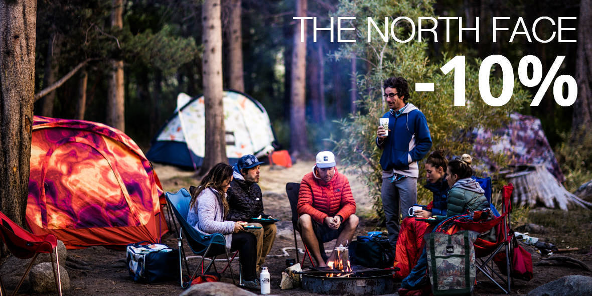 The North Face: -10% na produkty marki The Nort Face