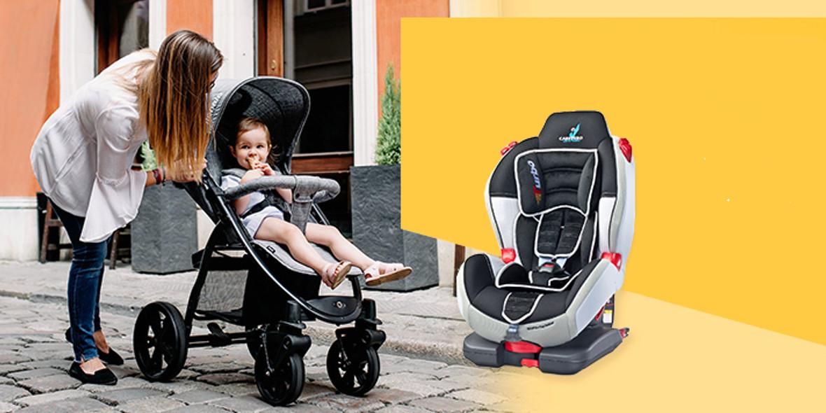 na wózki, foteliki i nosidełka
