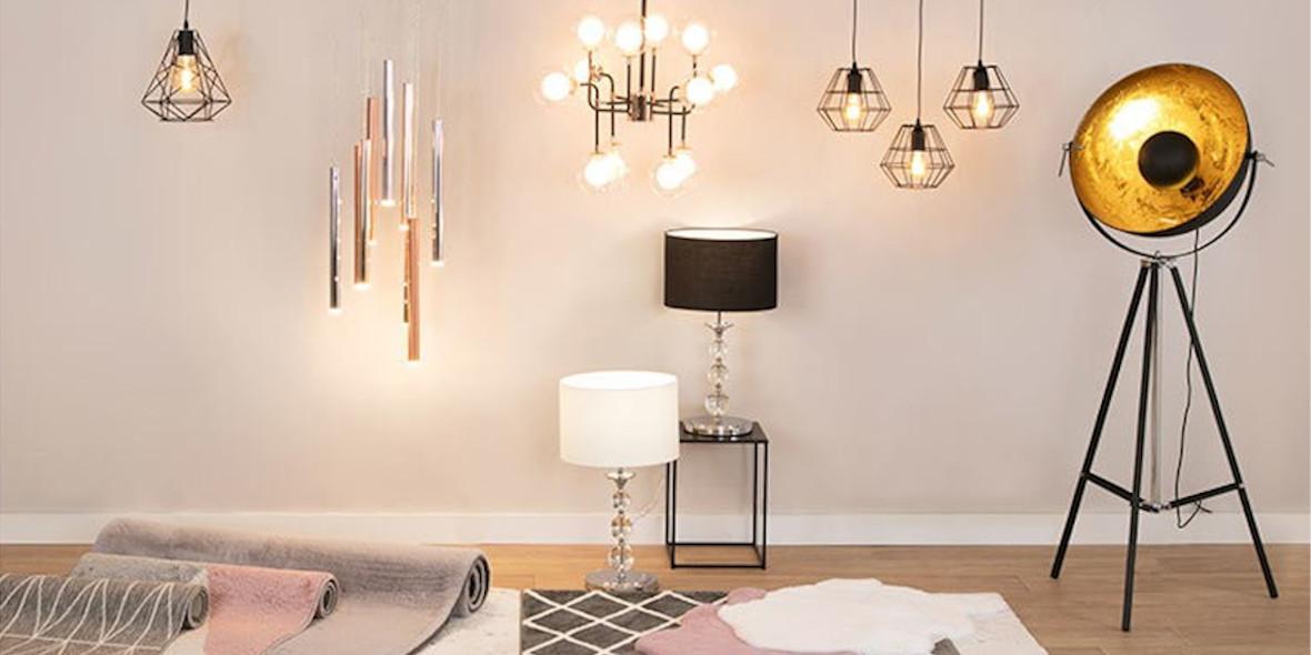 na lampy i dywany