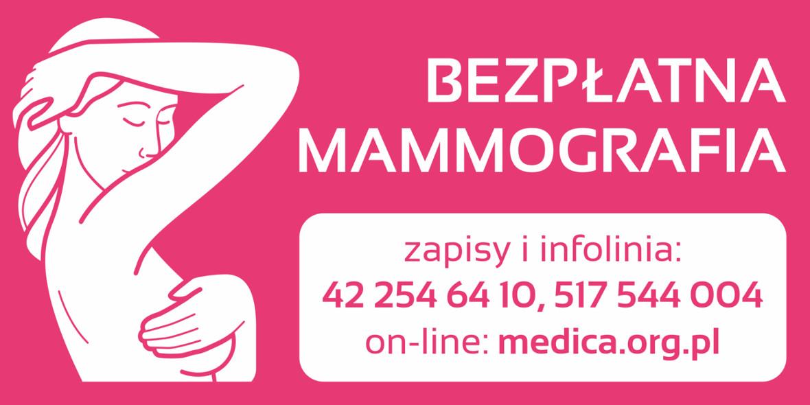Galeria Wisła: Bezpłatna Mammografia