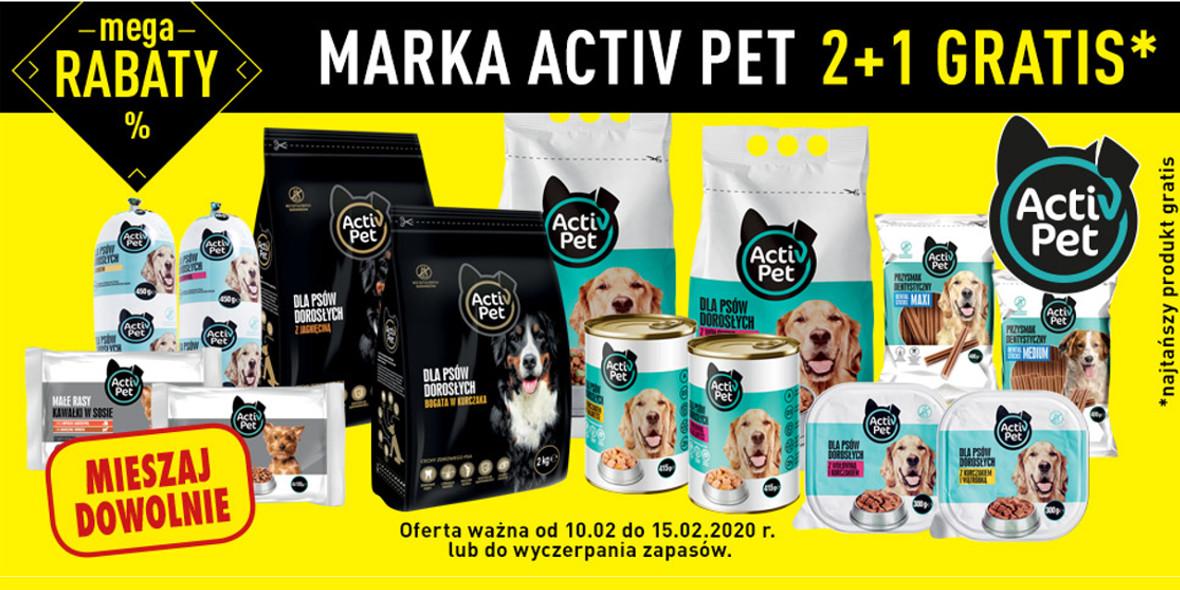trzeci produkt marki Activ Pet