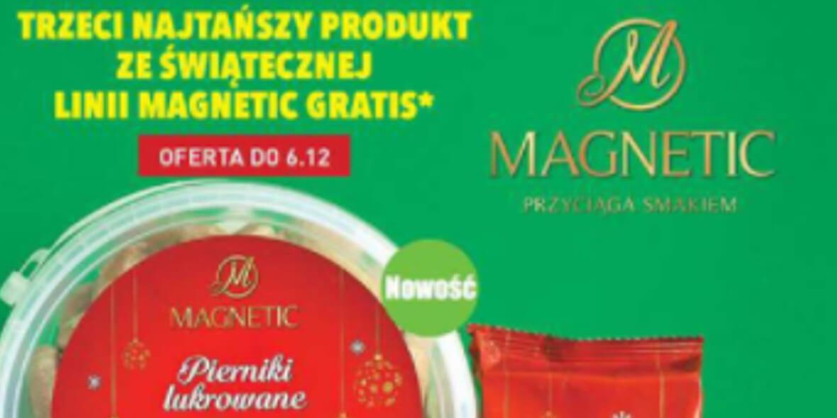 Biedronka: Gratis trzeci najtańszy produkt świąteczny Magnetic 03.12.2020